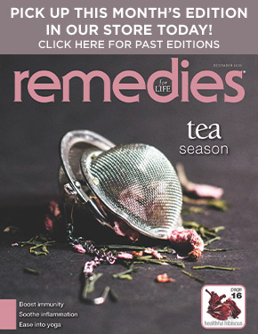 remedies cover and magazine archive